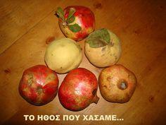 TΟ ΗΘΟΣ ΠΟΥ ΧΑΣΑΜΕ...: Κυδώνι πελτές(ή μπελτές ή στυφτό) και κυδωνόπαστο... Greek Desserts, Sweets, Apple, Fruit, Cooking, Recipes, Blog, Handmade, Spoon