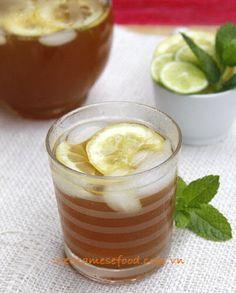 vietnamese recipies | Vietnamese Food: Iced Tea Lemon Recipe (Trà Chanh)