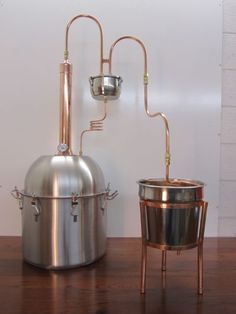 ALCOHOL-ETHANOL-MOONSHINE-COPPER-TOWER-STILL-8-GALLON-PREMIUM-BOILER