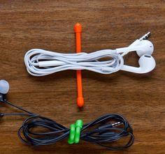 Entwirren und bündeln Sie mit dem Gear Tie Computer-Kabel, Kabel von ...