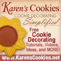 Karen's Cookies - Cookie Decorating Simplified