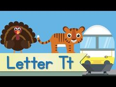 Letter T Song (Official Letter T Music Video by Have Fun Teaching) Alphabet Song For Kids, Abc Song For Kids, Alphabet Video, Alphabet Songs, Abc Songs, Teaching The Alphabet, Alphabet Activities, Kids Songs, Letter T Song