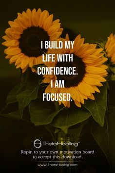 ThetaHealing Download: I build my life with confidence.