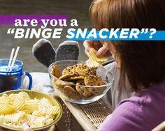 Are You a 'Binge Snacker'
