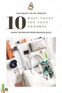 10 Must-Haves For Your Handbag School Purse, Handbags For School, Satchel Handbags, Louis Vuitton Handbags, Purses And Handbags, Unique Purses, Cute Purses, Vintage Purses