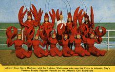 lobster-girl-atlantic-city #JoesCrabShack
