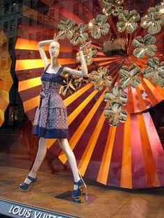 Louis Vuitton Window Displays
