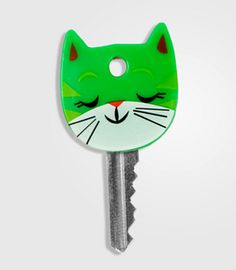 I actually have these on my keys...yes I am a cat nerd!