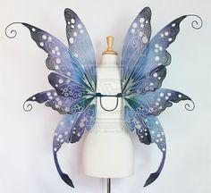 Embyrre Fae Queen Fairy Wings by glittrrgrrl.deviantart.com on @deviantART
