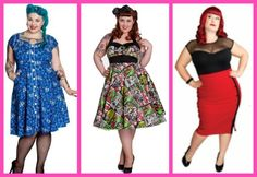 shopping for plus size pin up fashion