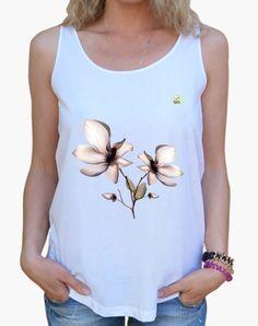 Camiseta Orquídea Camiseta mujer tirantes anchos & Loose Fit  19,90 € - ¡Envío gratis a partir de 3 artículos!