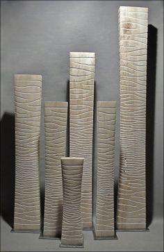 colonnes blanches 60 à 180 cm Benoît Averly