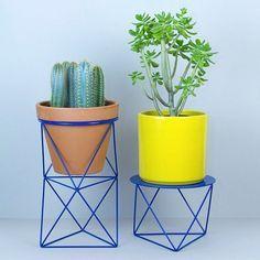 Geometrische plantenstandaard