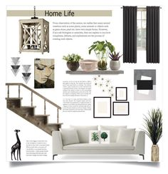 """Home Life"" by jspe8 ❤ liked on Polyvore featuring interior, interiors, interior design, home, home decor, interior decorating, Global Views, NDI, Torre & Tagus and Sun Zero"