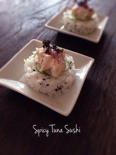 タバスコでスパイシーツナの寿司。|レシピブログ