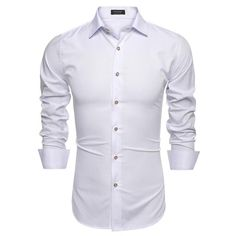 Coofandy Stylish Men's Casual Slim Fit Shirt