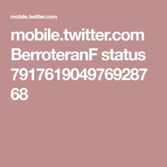 mobile.twitter.com BerroteranF status 791761904976928768