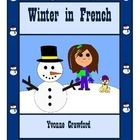 Winter in French is a booklet that focuses on the names of different winter items in French like coat, it's cold, etc.   Included:   12 full co...