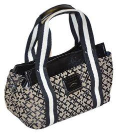 Tommy Hilfiger Women Logo Small Iconic Tote Handbag « Clothing Impulse