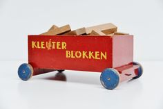 Online century modern Art & Design showroom, specialized in Industrial furniture and Dutch Modernism. 1950s Furniture, Wooden Toy Trucks, Abstract Lines, Designer Toys, Wood Toys, Dollhouse Furniture, Industrial Furniture, Cubes, Kos