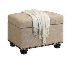 Special Offers - Convenience Concepts Designs4Comfort Storage Ottoman Tan - In stock & Free Shipping. You can save more money! Check It (November 19 2016 at 07:29PM) >> http://counterstoolsusa.net/convenience-concepts-designs4comfort-storage-ottoman-tan/