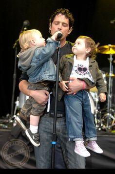 Chris Cornell and his children