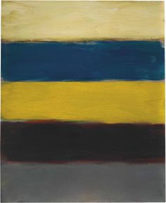 'Landline Blue' (2013) by Sean Scully