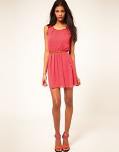 Enlarge ASOS Skater Dress With Pockets - The Ultimate Dress! This is my favorite color, and it has pockets!