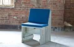 Terrassen Gartenstuhl mit weichem Sitz- & Rückenpolster » WITTEKIND