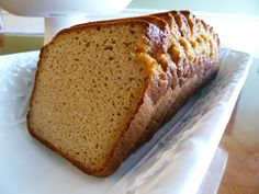 """I hope this picture speaks for itself. It's grain free BREAD! I SAID... """"IT'S GRAIN FREE BREAD!!"""" (hooray!)  Did you even know such a th..."""