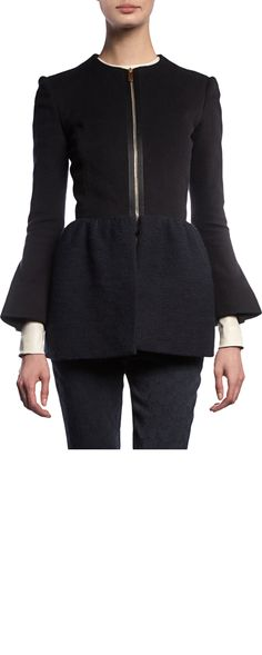 ee7f6f5025ca The Row loxton jacket to add to my peplum collection. Last on the list but
