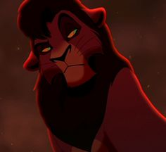 Kovu. The most attractive animated animal ever.