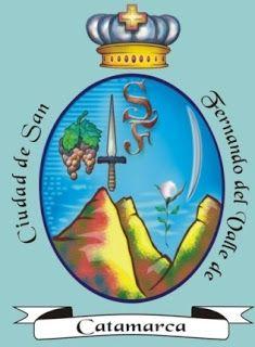 Heráldica en la Argentina: CAPITALES PROVINCIALES (2 de 24): Escudo de San Fernando del Valle de Catamarca (Catamarca)