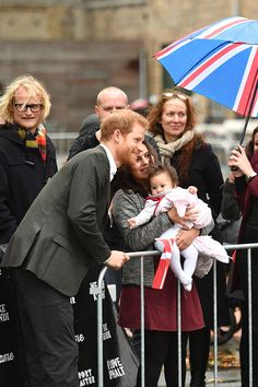 Given how long it is taking for an official engagement to Meghan Markle to be announced, the question of 'is Prince Harry baby ready?' can almost certainly be dismissed. But, we reckon if and when Harry and Meghan finally tied the knot and decided to have children, he would make a brilliant dad. You only have to see the pictures of him in Denmark with an adorable little toddler to decide for yourselves. Prince Harry was on a two-day trip to Denmark's capital city, Copenhagen, and was…
