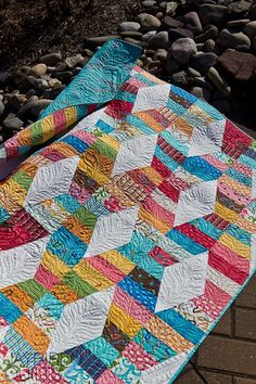 Hugs and Kisses by Jaybird Quilts.  Got the pattern - NEED to make!