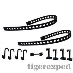 QuickFist Spanngurtset Tie Down Belt (2 Gurte, 4 Haken, 4...