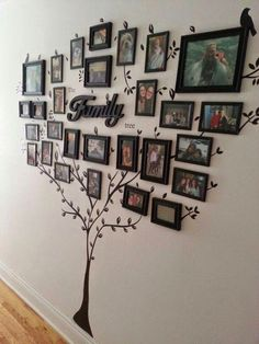 Fantastic DIY Ways to Display Your Family Photos