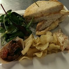 """The Fleece, Cirencester. """"So far, the aged cheddar and tomato toastie with our own courgette chutney is a firm favorite #spring #menu"""""""
