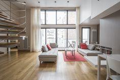 Paris : Penthouse contemporain
