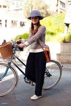 … Bike Suit, Bike Style, Gears, Cycling, Street Style, Suits, Vintage, Inspiration, Women