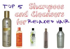 5 cleansers will clarify your relaxed tresses and infuse much needed moisture during the cleansing process.These 5 cleansers will clarify your relaxed tresses and infuse much needed moisture during the cleansing process. Natural Hair Growth, Natural Hair Styles, Relaxed Hair Growth, Dark Curly Hair, Frizzy Hair, Dry Hair, Long Hair, Thin Hair, Relaxed Hair Regimen