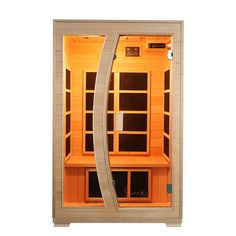 Luxo 'Valo' 2 Person Carbon Fibre Infrared Sauna