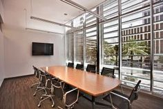 Focus groups, mock juries, and panels can be live streamed to a large viewing screen in one of the 4 smaller conference rooms in the building. These rooms can also be used to host smaller groups. The smaller conference rooms are adjacent to exterior balconies facing Canal Street.