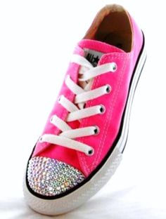 newest f9619 b95b8 pink glittery converse Pink Converse, Converse All Star, Converse Shoes,  High School Fashion