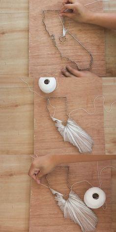 DIY String Art by State | Easy Wall Art Ideas by DIY Ready at diyready.com/...