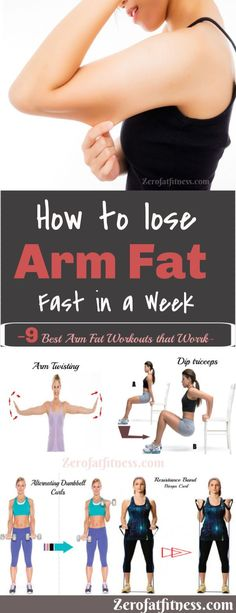 Best Armpit Fat Exercises To Lose Arm And Back Fat In A Week How to Lose Arm Fat Fast in a Week . Here is how get rid of arm fat fast at home.Losing arm fat isn't as simple as lifting a few weights. But you can reduce with arm. Burn Arm Fat, Lose Arm Fat Fast, Fat To Fit, Lose Belly Fat, How To Lose Weight Fast, Loose Weight, Loose Arm Fat, Body Weight, Lower Belly
