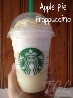 secret recipe: apple pie frappuccino from starbucks. my favorite secret recipe from starbucks is snickerdoodles though