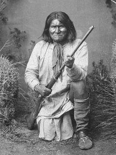Bedonkohe Apache Goyaale 1887 - Geronimo - Wikipedia, the free encyclopedia