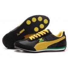 Puma Men Usain Bolt Running Shoes Black/Yellow