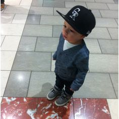 My sons gunna look like this because daddys going to dress him!  Swag to the max lol ... too cute